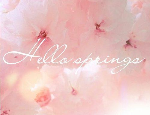 Spring #booktag