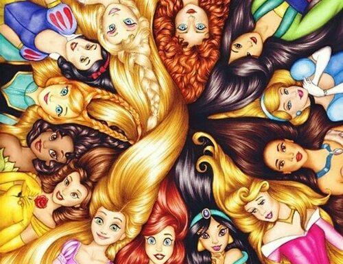 Disney Princess Booktag