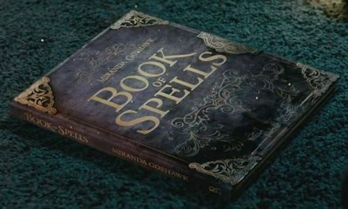 Harry Potter spells #booktag