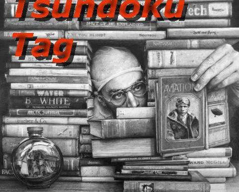 Tsundoku Tag, Le pile di libri da leggere!